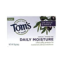 Tom's of Maine Daily Moisture Bar Soap (Pack of 6) 120 ml