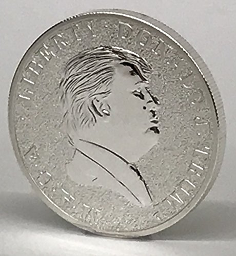 - DONALD TRUMP Limited Edition 2016 Presidential Coin with EAGLE and American Shield 38.6mm x 3.5mm by Aizics Mint