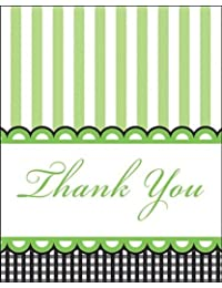 Creative Converting Sweet Baby Feet Green Thank You Notes, 8-Count BOBEBE Online Baby Store From New York to Miami and Los Angeles