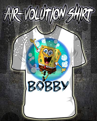 Personalized Airbrush Spongebob Shirt]()