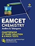 EAMCET Chemistry Andhra and Telangana Chapterwise 26 Years' Solutions and 5 Mock Tests