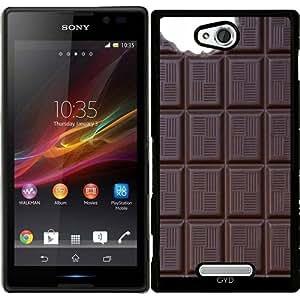 Funda para Sony Xperia C S39H - Barra De Chocolate by wamdesign