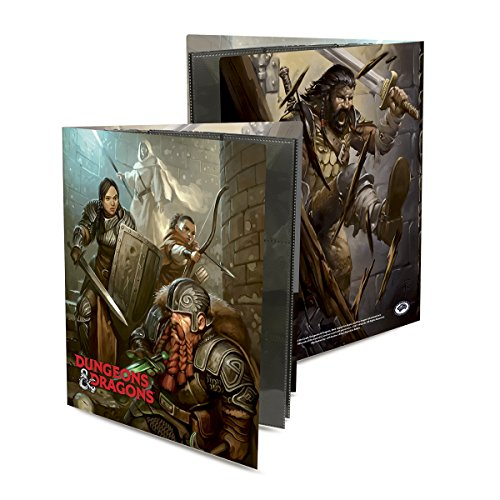 "Officially Licensed Dungeons & Dragons ""Dungeon Crawl"" Character Folio"