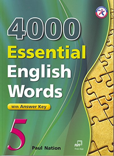 4000 Essential English Words, Book 5 with Answer Key (4000 English Words Essential)