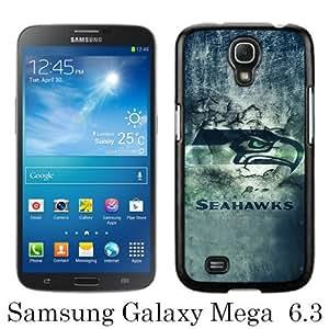 Seattle Seahawks 20 Black New Customized Samsung Galaxy Mega 6.3 i9200 i9205 Phone Case