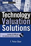 Technology Valuation Solutions, F. Peter Boer, 0471654671