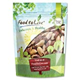 Raw Brazil Nuts (Whole, No Shell, Unsalted) by Food to Live — 8 Ounces