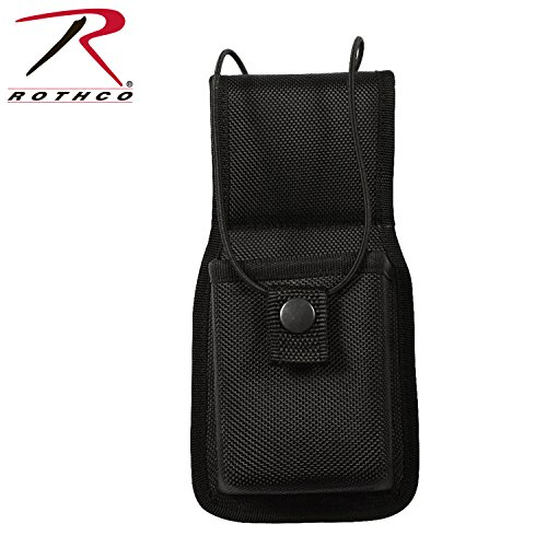 Molded Radio Pouch - Rothco Enhanced Molded Universal Radio Pouch-Black