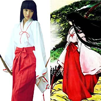 Japanese Anime Inuyasha Cosplay Wig Long Straight Black Hair Wigs