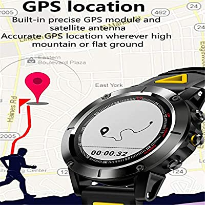 Amazon.com: QUARKJK Fitness Tracker GPS Smart Watch IP68 ...