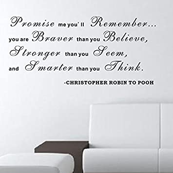 Pop Decors WL-0128-Va Inspirational Quote Wall Decal All Because Two People Fell in Love
