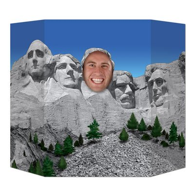Presidential Mountain Photo Prop Party Accessory (1 count) (1/Pkg) -