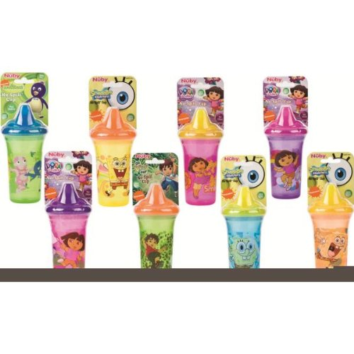 SpongeBob No-Spill Cup 9 oz ~ BPA FREE