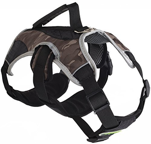 EXPAWLORER Escape Proof Outdoor Dog Harness Safety Air