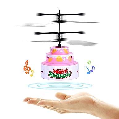 Amazon.com: Islandse❤ Juguete para tartas volador RC ...