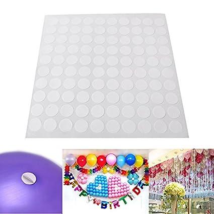 OPUSS Juego de 100 piezas de pegamento para globos y ...