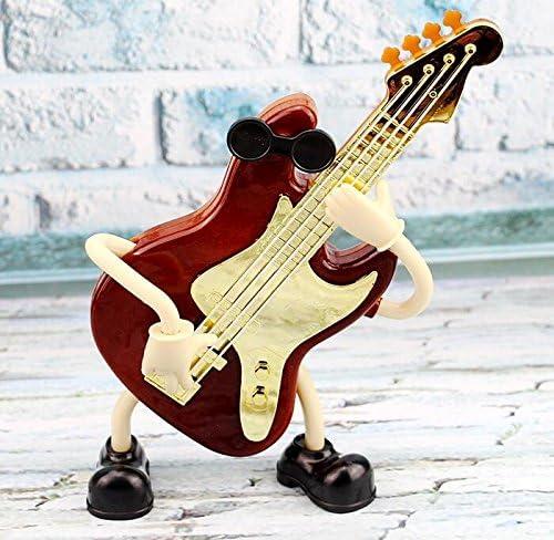 Rcdxing decoración del hogar Caja de música de diseño de Guitarra ...