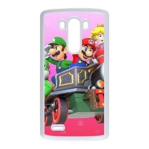 LG G3 Cell Phone Case White_Mario Party 10_014 Zpouk