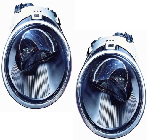 03 vw beetle headlight assembly - 8