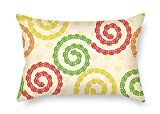 Slimmingpiggy The Vortex Throw Pillow Covers Of 16 X 24 Inches / 40 By 60 Cm Decoration Gift For Birthday Dining Room Club Chair Christmas Pub (2 Sides)