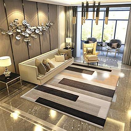 Amazon.com: ZGYZ Living Room Rugs,Nordic Geometric Modern ...