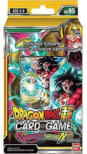 Dragon Ball Super The Crimson Saiyan Deck Series 4 Colossal Warfare from Dragon ball
