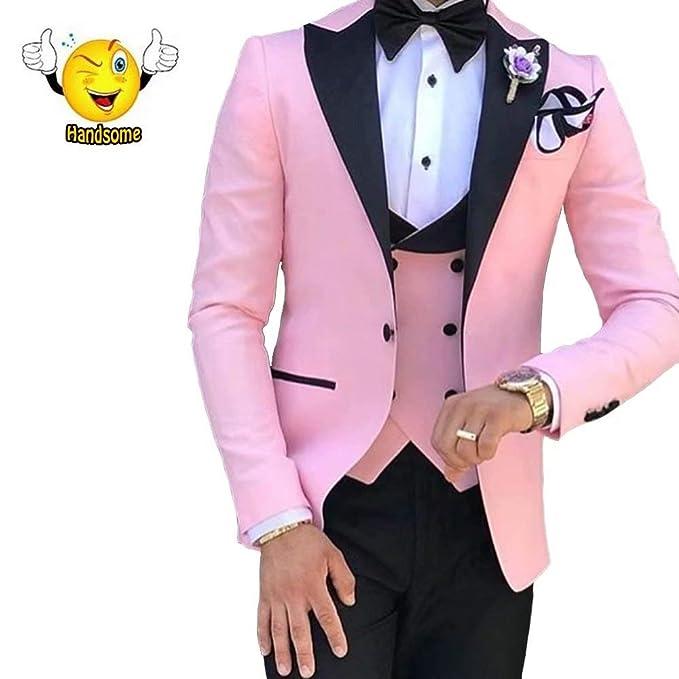 Amazon.com: Traje de boda para hombre, estilo retro, color ...