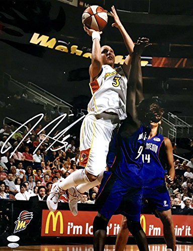 Signed Diana Taurasi Photograph - Phoenix Mercury 16x20 T40158 - JSA Certified - Autographed WNBA Photos