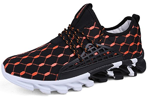 JIYE Men's Athletic Running Shoes Outdoors Lace Up Fashion Sneakers