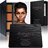 Compra Aesthetica Contour Series - Tan to Dark Powder Contour Kit / Contouring and Highlighting Makeup Palette; Vegan and Cruelty Free - Easy-to-Follow Step-by-Step Instructions Included en Usame