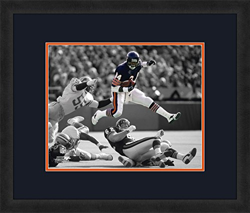 NFL Chicago Bears Team Color Mats/Picture Frame, Navy, 22.5 x 26.5-Inch
