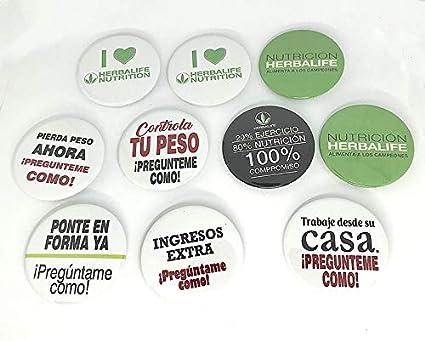 Chapas personalizadas con mensaje: HERBALIFE NUTRITION | 58mm ...