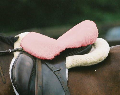 Engel Reitsport Lammfell Sattelsitzbezug englisch Farbe pink rosa Sabez 1
