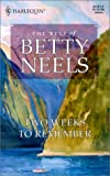Two Weeks to Remember (Reader's Choice: The Best of Betty Neels)