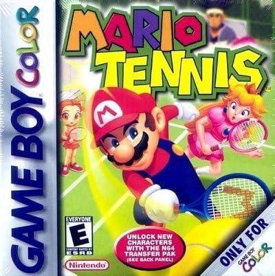 Mario Tennis [Game Boy Color] [Importado de Francia]: Amazon.es: Videojuegos