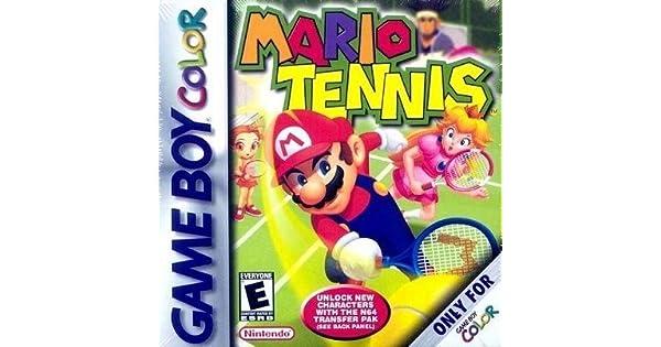 Mario Tennis [Game Boy Color] [Importado de Francia]: Amazon.es ...