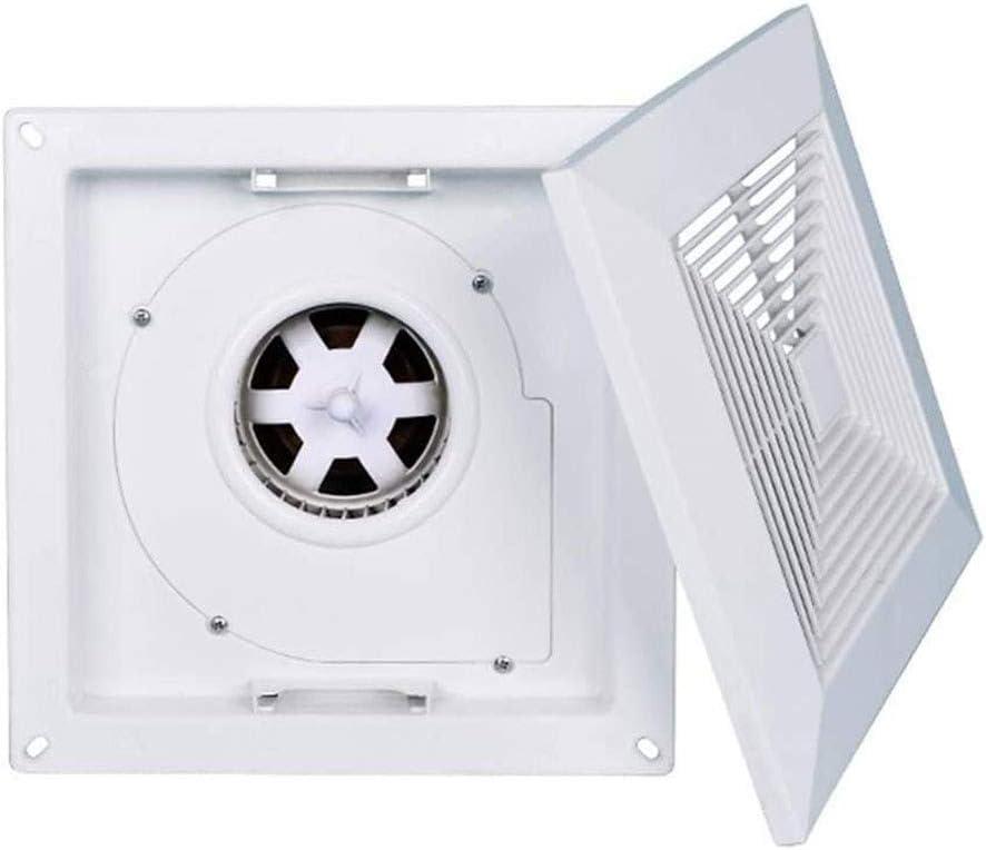 Ventilador De Escape Montadoen La Pared Ventilador de techo, baño cocina Potente extractor de humos, de alta potencia, bajo nivel de ruido en el techo tipo extractor de aire ultra-delgado, conveniente