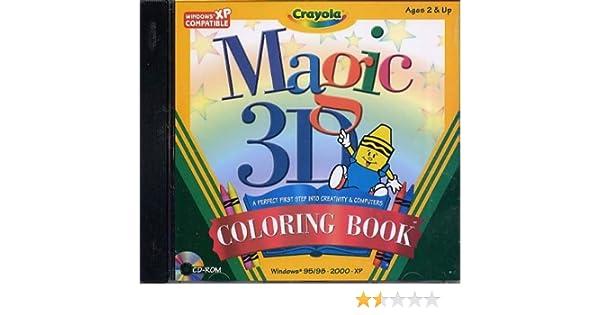 Amazon Crayola Magic 3D Coloring Book PC Toys Games