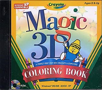 Amazon.com: Crayola Magic 3D Coloring Book (PC): Toys & Games