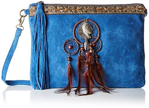 Cm w Spalla Chicca 30x22x2 X Blu A L H Borse 1525 Donna Borsa blue qcwF0C1