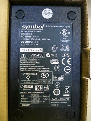 Symbol Power Supply 50-14001-006R NEW by Symbol Technologies
