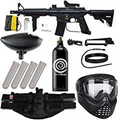 The Action Village Foxtrot Paintball Kit is the perfect package to get you out on the field this weekend! This package kit is the perfect one stop shop, bundling the best paintball gun with excellent accessories. This package include a Tippma...