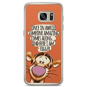 Loud Universe Tigger Pooh Quote Samsung S7 Edge Case Pooh Friends Quote Samsung S7 Edge Cover with Transparent Edges