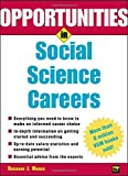img - for Opportunities in Social Science Careers (Opportunities In Series) book / textbook / text book