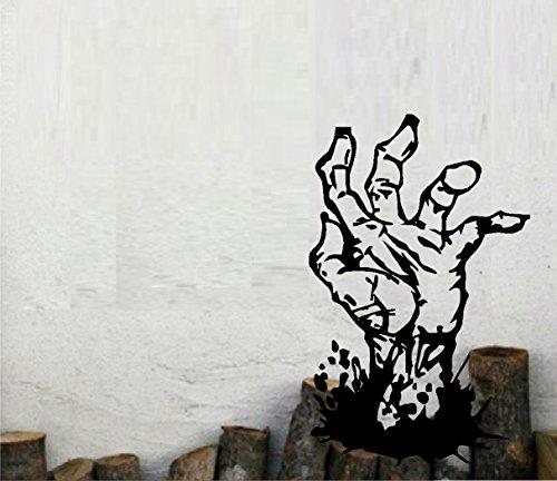 ZOMBIE HAND ~ HALLOWEEN: WALL OR WINDOW DECAL, 13