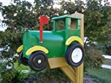 Tractor Mailbox - Green