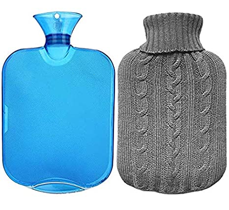 Amazon.com: Botella de agua caliente de goma Premium Classic ...