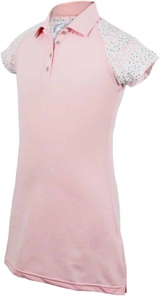Traje Niñas Carmen Polo vestido rosa XXL (13 – 14): Amazon.es ...