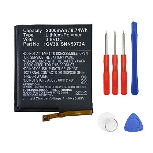 Swark Replacement GV30 Battery Compatible with Motorola Moto Z TD-LTE, XT1650-03, Moto Z Dual SIM, XT1650-05, Moto Z Droid Edition XLTE, XT1650-01,SNN5972A with Tools kit