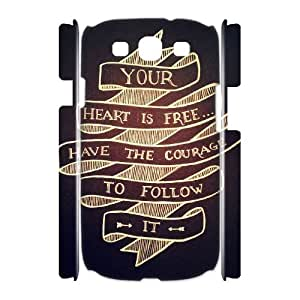 FLYBAI Braveheart Mel Gibson Phone 3D Case For Samsung Galaxy S3 I9300 [Pattern-2]